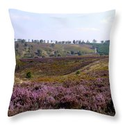 Cannock Chase Heather 4 Throw Pillow