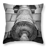 Cannon At Castillo Throw Pillow