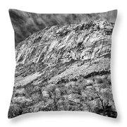 Cannon Cliffs Wind Throw Pillow