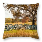 Cannons Throw Pillow