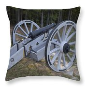 Cannon Ninety Six National Historic Site Throw Pillow