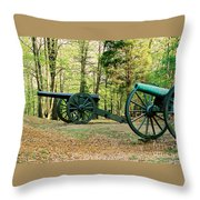 Cannons I Throw Pillow