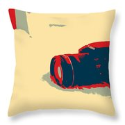 Canon Artwork Throw Pillow