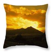Canon City Sunset Throw Pillow