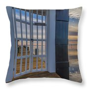 Can't Keep Out The Beauty Throw Pillow