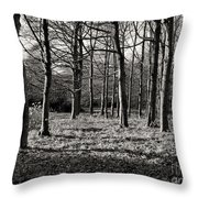 Can't See The Wood For The Trees Throw Pillow