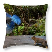Can't We All Just Get Along? Throw Pillow