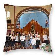 Cantata 8 Throw Pillow