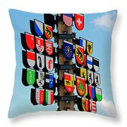 Canton Tree Throw Pillow