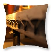 Canvas Boxing Ring Throw Pillow
