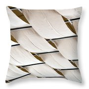 Canvas Ceiling Detail Throw Pillow