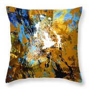 Canvas Dreams Throw Pillow