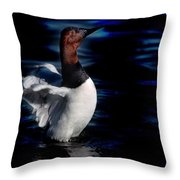 Canvasback Refold Throw Pillow