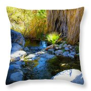 Canyon Creek Baby Palm Throw Pillow