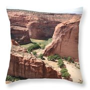 Canyon De Chelly Arizona Throw Pillow