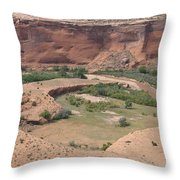 Canyon De Chelly View Throw Pillow