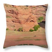 Canyon De Chelly From White House Ruins Trail Throw Pillow