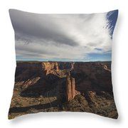 Canyon De Chelly Throw Pillow