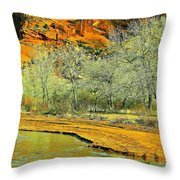 Canyon De Chelly - Spring I Throw Pillow