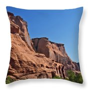 Canyon Dechelly Navajo Nation Throw Pillow