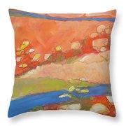 Canyon Dreams 22 Throw Pillow