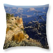Canyon Foliage Throw Pillow