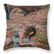 Canyon Hike Throw Pillow