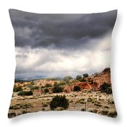Canyon Moves Throw Pillow by Diana Angstadt