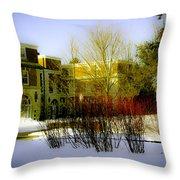 Canyon Ranch - Berkshires - Massachusetts Throw Pillow