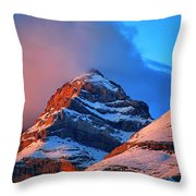 Canyon River A-isclo Or Bell-s. Ordesa Throw Pillow