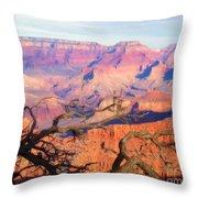 Canyon Shadows Throw Pillow