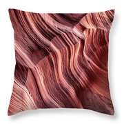 Canyon Texture Throw Pillow