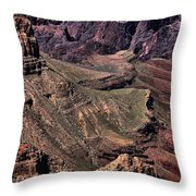 Canyon Walls Throw Pillow