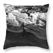 Snow In The Sun Throw Pillow