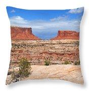 Canyonlands Utah Landscape Throw Pillow