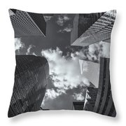 Canyons Of New York II Throw Pillow