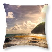 Cap Estate Throw Pillow