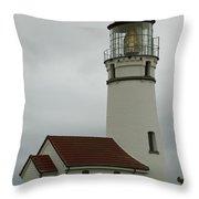 Cape Blanco Lighthouse  1 B Throw Pillow