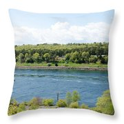 Cape Cod Canal Throw Pillow