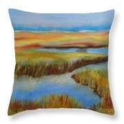 Cape Cod Colors Throw Pillow