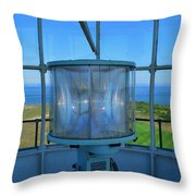Cape Cod Lighthouse View Throw Pillow