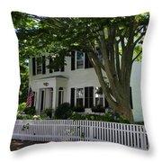 Cape Cozy Throw Pillow