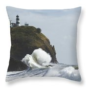 Cape Disappointment 2 B Throw Pillow