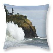 Cape Disappointment 3 A Throw Pillow