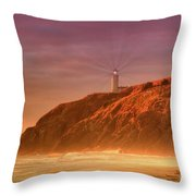 Cape Disappointment After The Storm Throw Pillow