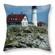 Cape Elizabeth Throw Pillow