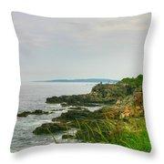 Cape Elizabeth Maine Throw Pillow