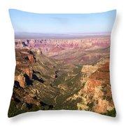 Cape Final Canyon View Throw Pillow