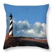 Cape Hatteras Lighthouse Nc Throw Pillow