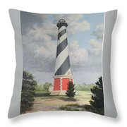 Cape Hatteris Sunrise Throw Pillow